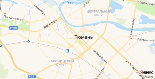 Карта Тюмени с улицами и домами подробная. Показать со спутника номера домов онлайн