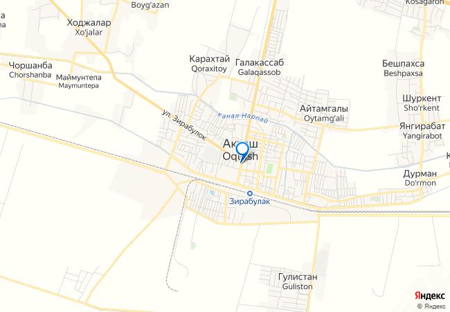 акташский элеватор на карте
