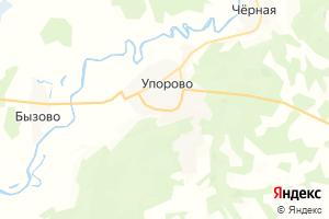 Карта с. Упорово Тюменская область