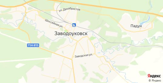 Карта Заводоуковска с улицами и домами подробная. Показать со спутника номера домов онлайн