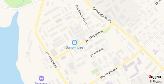 Улица Геологов в Салехарде с номерами домов на карте. Спутник и схема онлайн