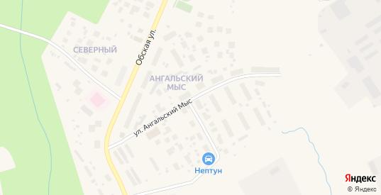 Улица Ангальский Мыс в Салехарде с номерами домов на карте. Спутник и схема онлайн