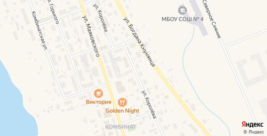 Улица Королева в Салехарде с номерами домов на карте. Спутник и схема онлайн