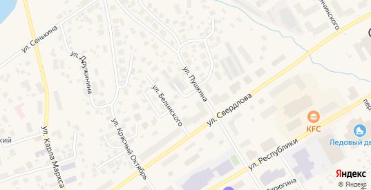 Улица Крылова в Салехарде с номерами домов на карте. Спутник и схема онлайн