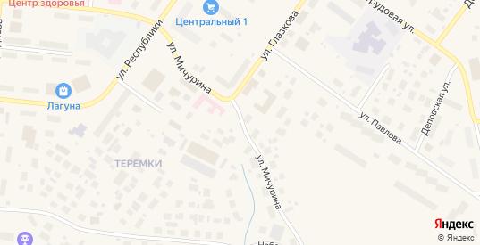 Улица Мичурина в Салехарде с номерами домов на карте. Спутник и схема онлайн