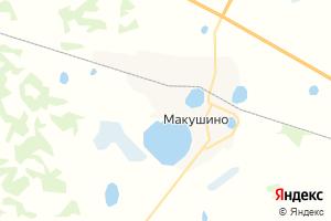 Карта г. Макушино Курганская область