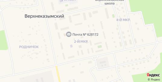 Улица 2 промзона в Белоярском с номерами домов на карте. Спутник и схема онлайн