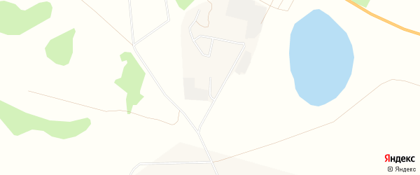 Карта поселка Вторчермета города Петухово в Курганской области с улицами и номерами домов