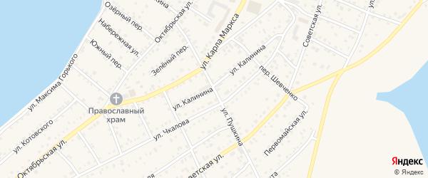 Улица Пушкина на карте Петухово с номерами домов