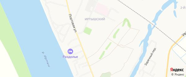 20 микрорайон-квартал 2 на карте Тобольска с номерами домов