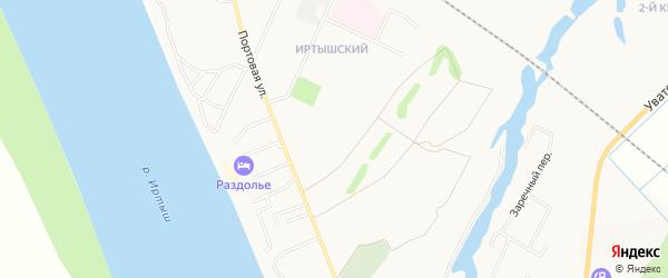 22 микрорайон-квартал 3 на карте Тобольска с номерами домов