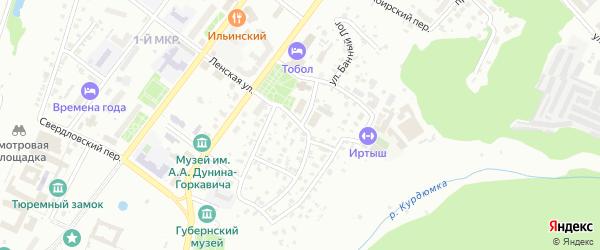 Малая Сибирская улица на карте Тобольска с номерами домов
