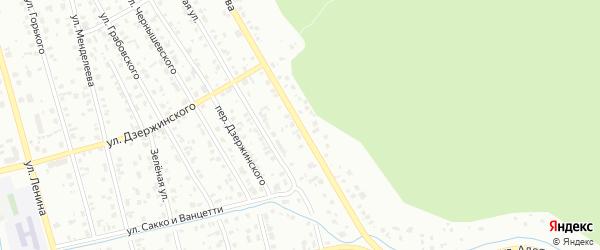 Улица Алябьева на карте Тобольска с номерами домов