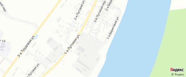 Береговой 5-й переулок на карте Тобольска с номерами домов