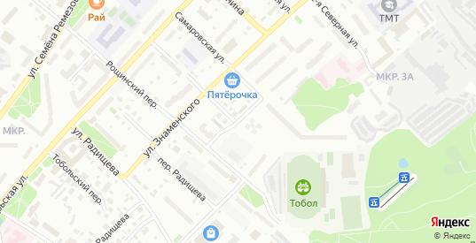 Первомайская улица в Тобольске с номерами домов на карте. Спутник и схема онлайн