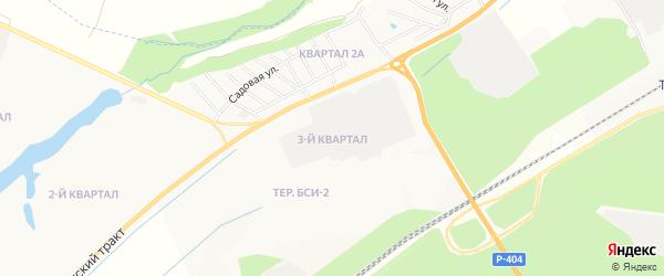 Территория БСИ-2-квартал 3 на карте Тобольска с номерами домов