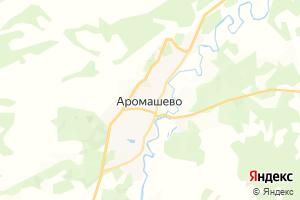 Карта с. Аромашево Тюменская область