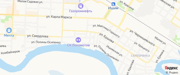 Гк Привокзальный ГСК на карте Ишима с номерами домов