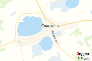 Карта с. Сладково Тюменская область