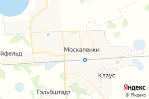 Карта пгт Москаленки Омская область