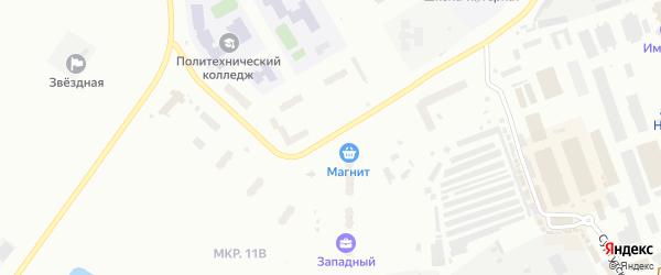 Улица Имени Алексея Варакина на карте Нефтеюганска с номерами домов