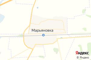 Карта пгт Марьяновка