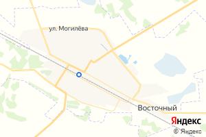 Карта пгт Любинский Омская область