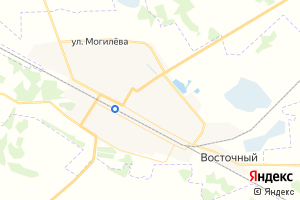 Карта пгт Любинский
