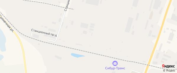 Центральная промышленная зона на карте Пыти-Ях с номерами домов