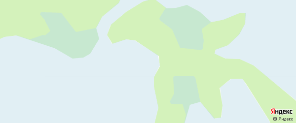 Карта территории Среднехулымского ГКМ в Ямало-ненецком автономном округе с улицами и номерами домов