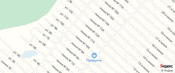 Улица 11а на карте территории СПК