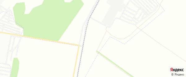 Карта поселка сдт Дорожное (ОАО) города Омска в Омской области с улицами и номерами домов