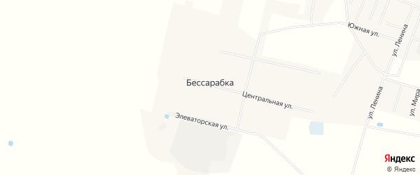 Карта деревни Бессарабки в Омской области с улицами и номерами домов