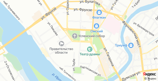 Карта поселка сдт Керамик-3 (ЦАО1) в Омске с улицами, домами и почтовыми отделениями со спутника онлайн