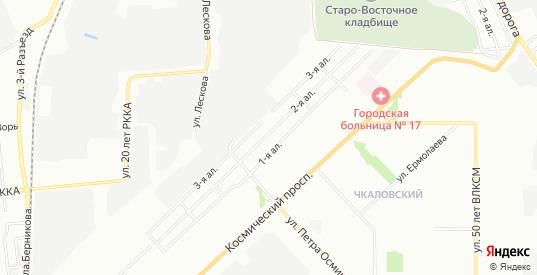 Карта поселка сдт Сибиряк (ОАО) в Омске с улицами, домами и почтовыми отделениями со спутника онлайн