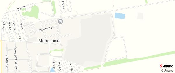 Карта села Морозовки в Омской области с улицами и номерами домов
