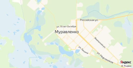 Карта Муравленко с улицами и домами подробная. Показать со спутника номера домов онлайн