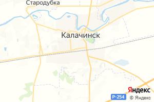 Карта г. Калачинск Омская область