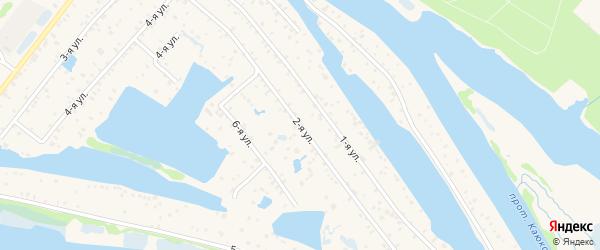 2-ая улица на карте населенного пункта СОТА Рябинушки с номерами домов