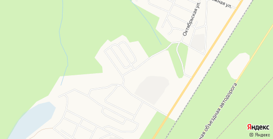 Карта поселка МК-15 в Ноябрьске с улицами, домами и почтовыми отделениями со спутника онлайн