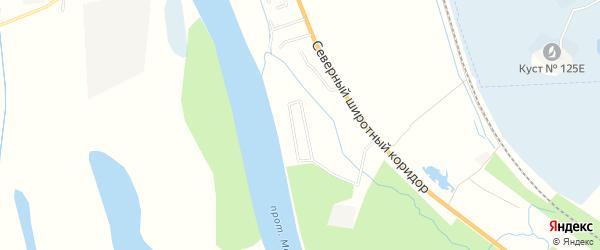 Садовое товарищество им Т.Мальцева на карте Нижневартовского района Ханты-Мансийского автономного округа с номерами домов