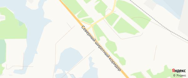Садовое товарищество СОТ Кедр 10 км автодороги Х-М-Т на карте Ханты-Мансийска с номерами домов