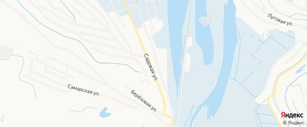 Садовое товарищество СОТ Рубин на карте Нижневартовска с номерами домов