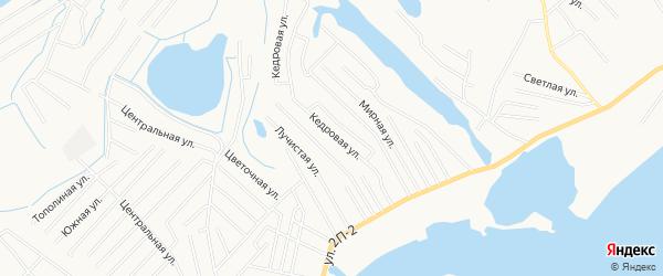 Садовое товарищество СОНТ Энергетик-85 на карте Нижневартовска с номерами домов