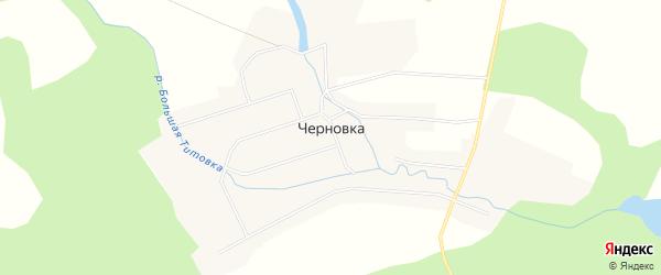 Карта села Черновки в Новосибирской области с улицами и номерами домов