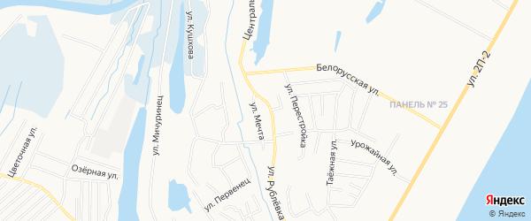 Садовое товарищество СОК Мечта на карте Нижневартовска с номерами домов