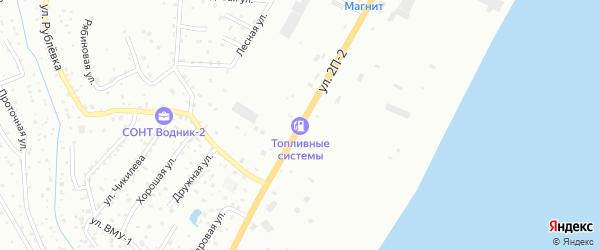 Улица 2П-2 на карте Нижневартовска с номерами домов