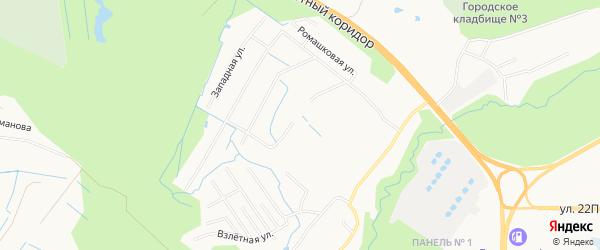 Садовое товарищество СОНТ Авиатор на карте Нижневартовска с номерами домов
