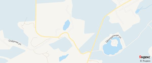 СНТ Черногорка на карте Нижневартовского района Ханты-Мансийского автономного округа с номерами домов