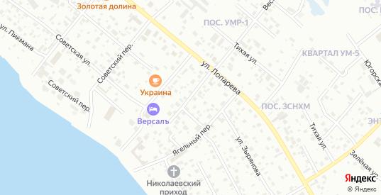 Ягодный переулок в Нижневартовске с номерами домов на карте. Спутник и схема онлайн